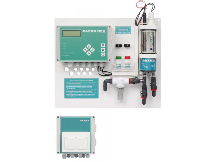 Automatic dosing station without metering pumps